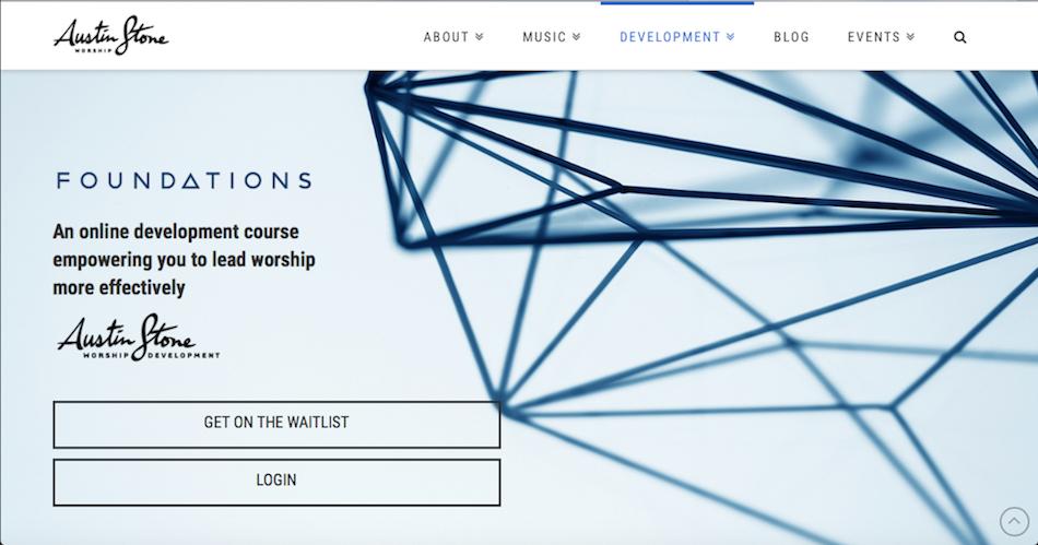 Foundations Web Screen Shot